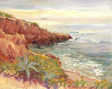 """The Long View, Sunset Cliffs"" by Joan Boyer"